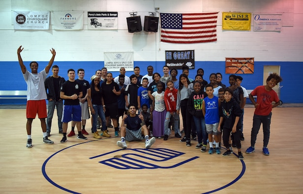 Cops vs. Youth Basketball Event