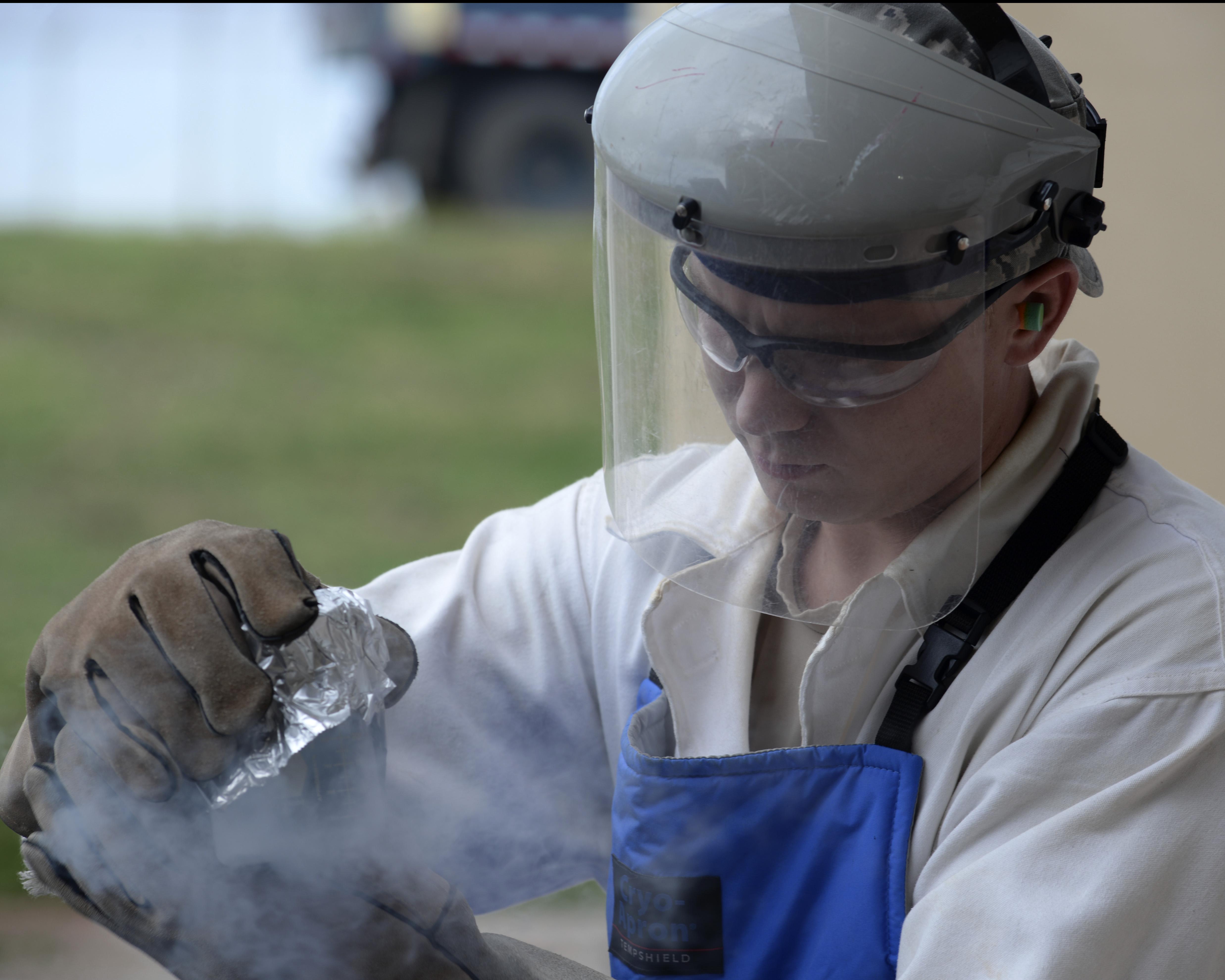 Cooler Than Cool, LRS Airmen produce liquid oxygen at Andersen
