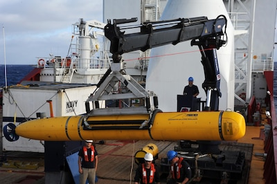 Navy Deploys Unmanned Submersibles in Argentine Submarine Search