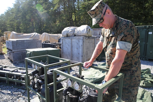 Company-level water system just got better for devil dogs