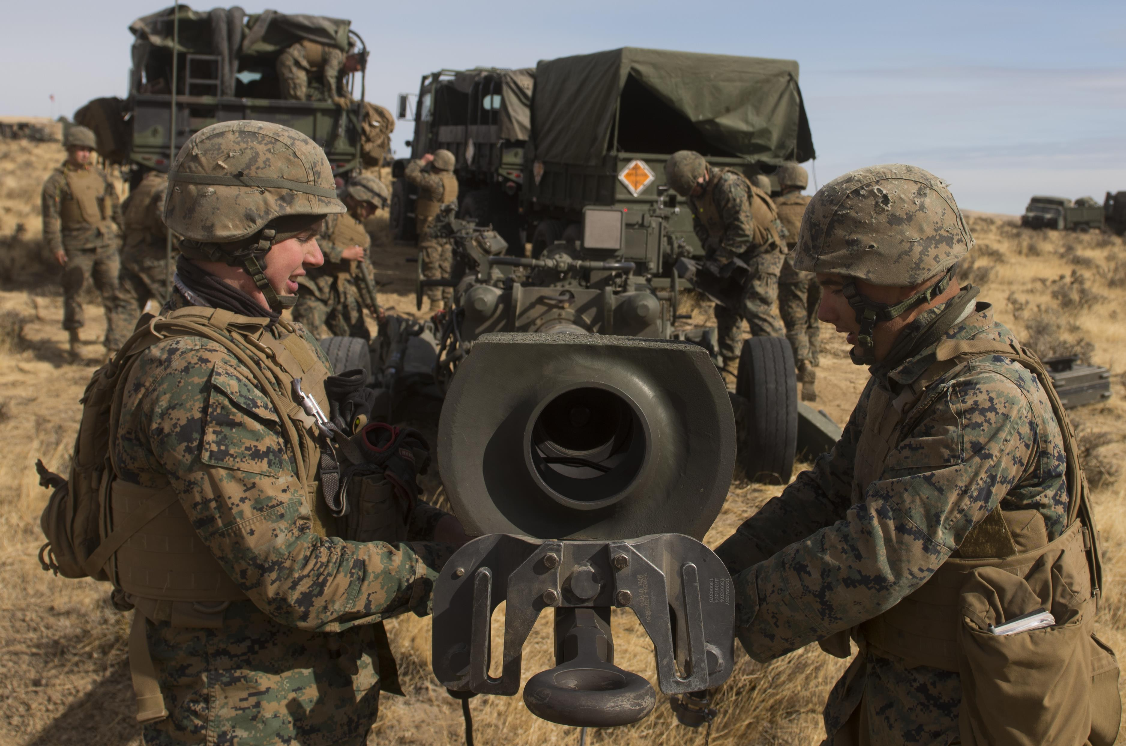 Fairchild supports Marine Battery P to 'Fire Mission
