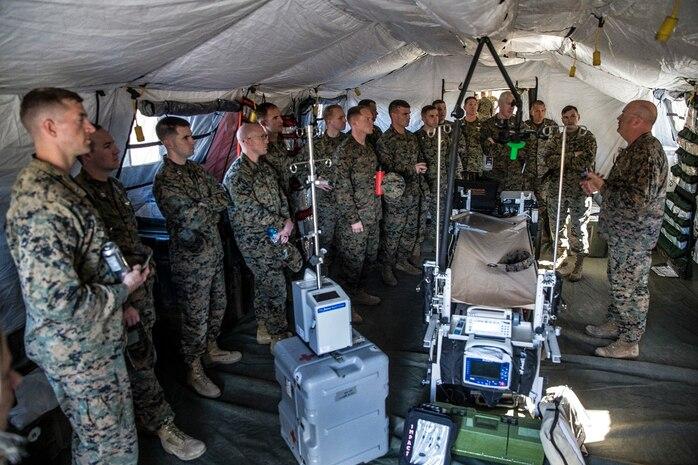 Expeditionary Warfare School Participates in MLG Day