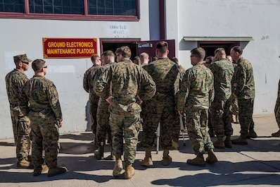 Expeditionary Warfare School Participates in MLG Day