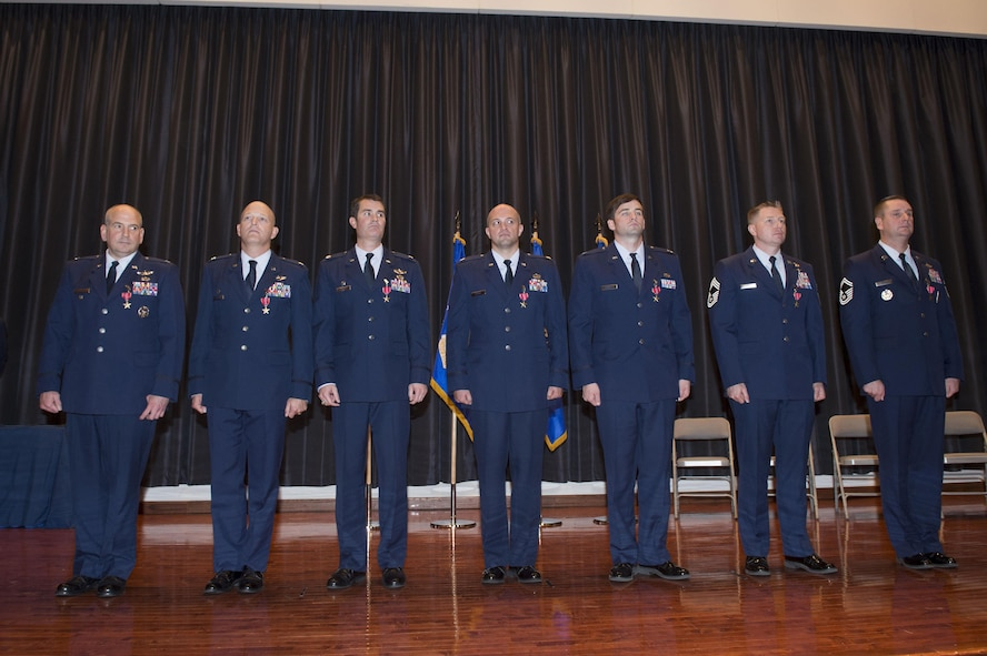 Seven CRW Airmen receive Bronze Star