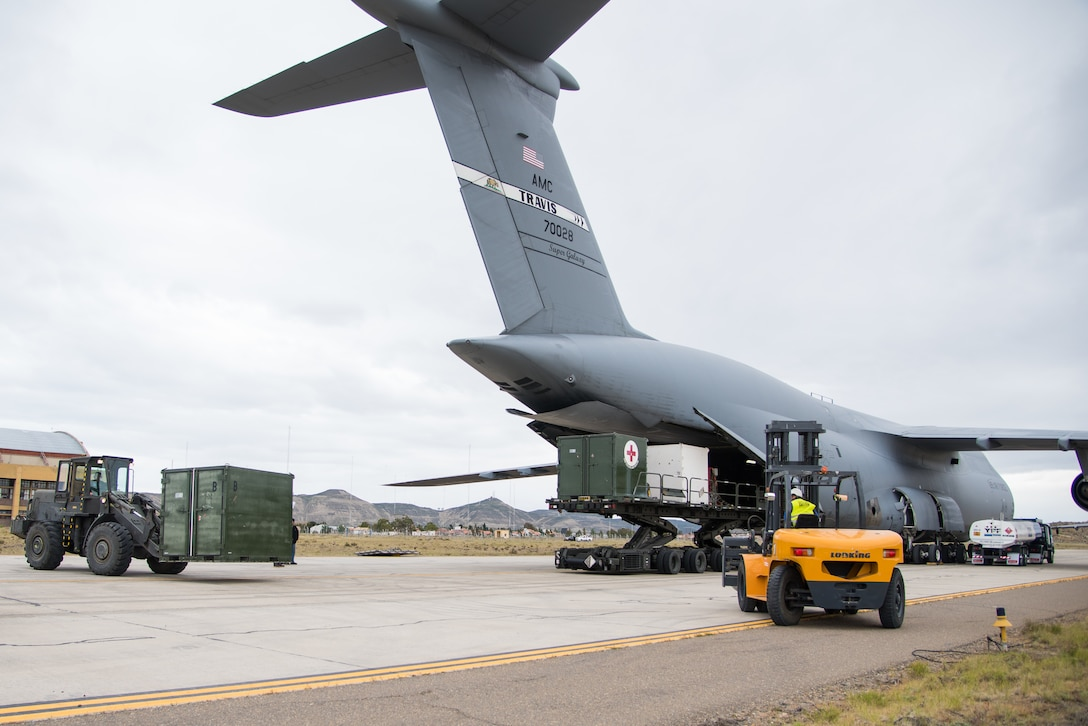 Mobility aircraft deliver equipment and expertise to Argentina