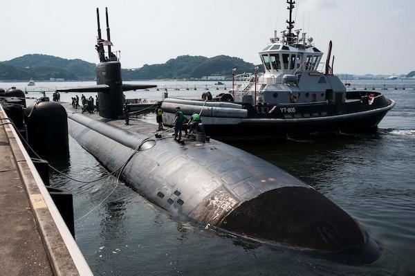 USS Key West visits Yokosuka during Indo-Asia-Pacific patrol