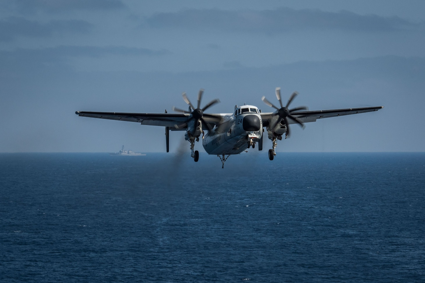 Official U.S. Navy file photo of a C-2A Greyhound.