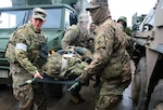 Mass casualty exercise tests Soldiers in Ukraine
