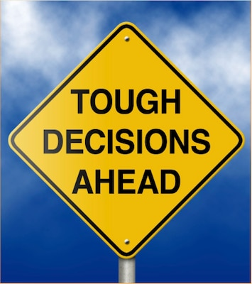 Life is a series of choices: decisions made today impact our future options.