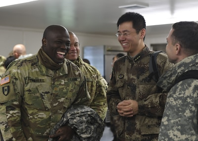 U.S., Chinese Troops Attend Disaster Management Exchange