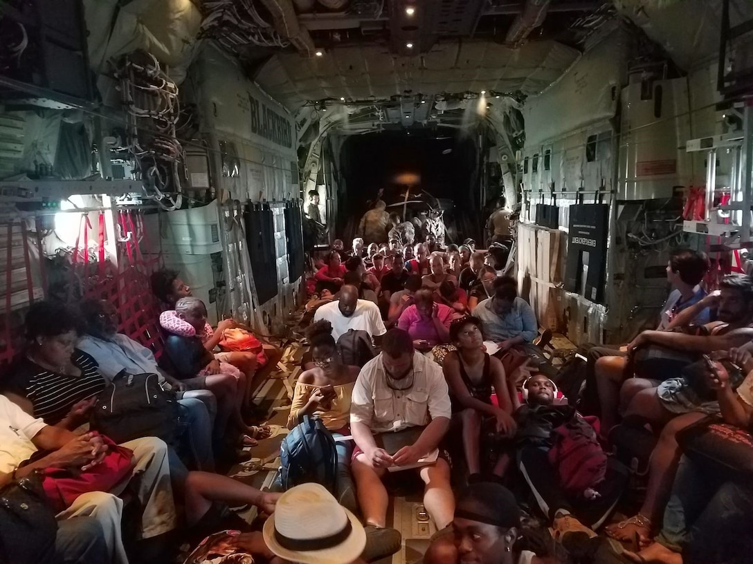 Air Force Special Operations medics delivered care and rebuilt infrastructure after Caribbean hurricanes