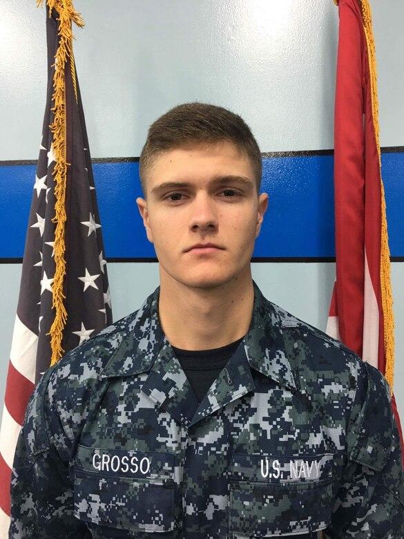 Aviation Ordnanceman Airman Apprentice Bryan Grosso, a native of Florida was assigned to USS Ronald Reagan (CVN 76).