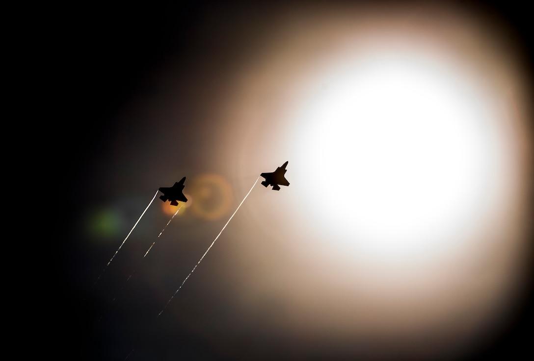 F-35 in sky