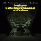 "Quote of the Day: ""Consistency is what transforms average into excellence."""
