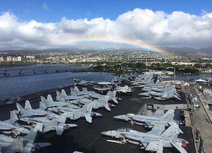 Nimitz Carrier Strike Group Arrives in Hawaii
