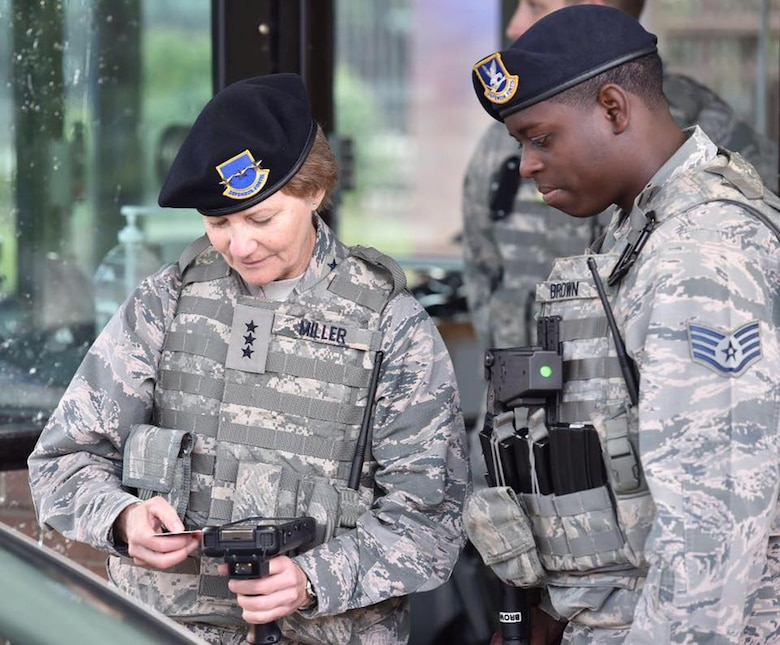 Throughout the year, Lt. Gen. Maryanne Miller, Air Force Reserve Command commander, and Chief Master Sgt. Ericka Kelly, AFRC command chief master sergeant, have traveled to numerous locations throughout the country and had the opportunity to visit with hundreds of Reserve Citizen Airmen and their families.