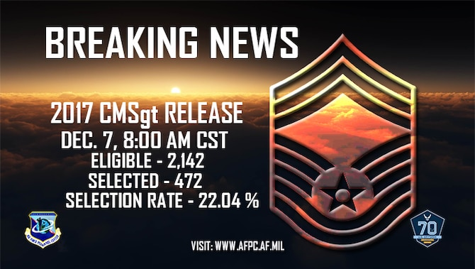 CMSgt Promotion