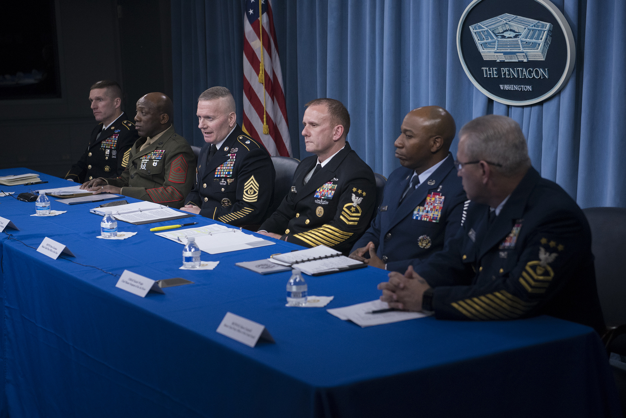 U s forces ready to fight win says chairman s enlisted for Chair joint chiefs of staff