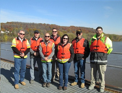 A start-up meeting for the Upper Ohio Navigation Project was held at Montgomery Locks and Dam, Nov. 9.