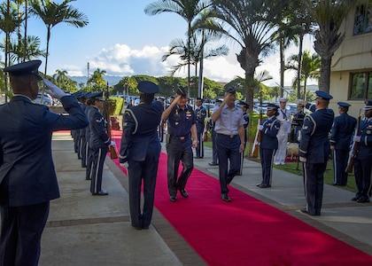Pacific Air Forces hosts Thai Air Chief Marshal