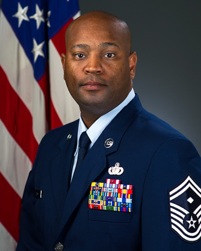 Senior Master Sgt. Patrick A. Odom, Jr., official photo, U.S. Air Force