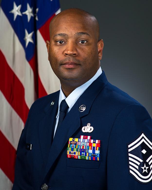 Senior Master Sgt. Patrick A. Odom, Jr., official photo, U.S. Air Force