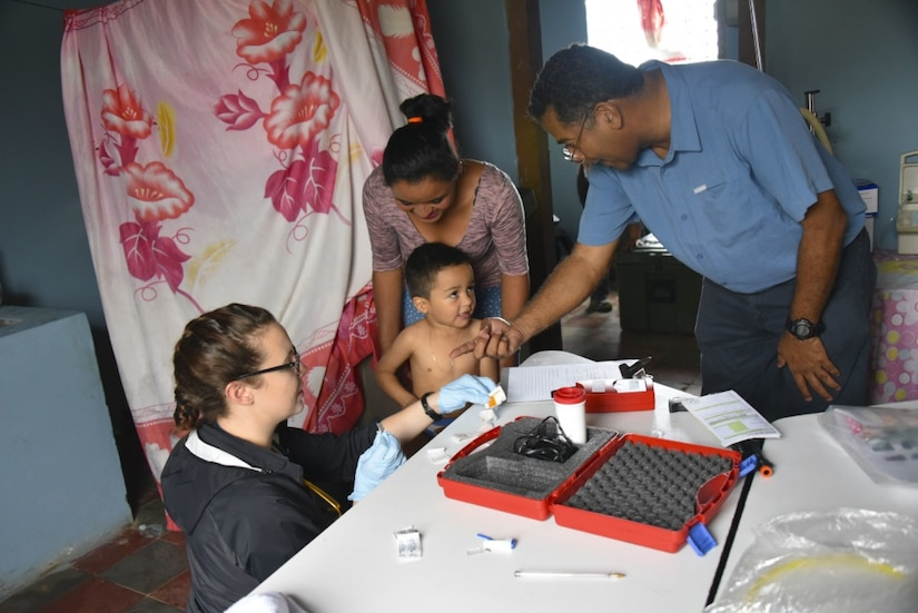 JTF-Bravo joins partners for Pediatric Nutritional Assessments