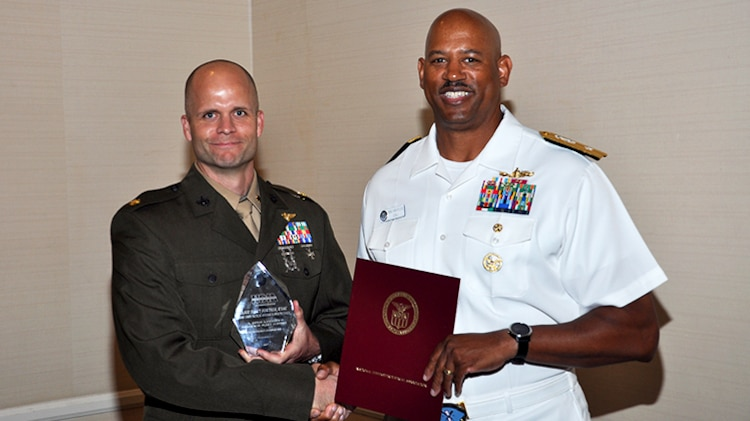 MCTSSA Marine earns prestigious fleet support award