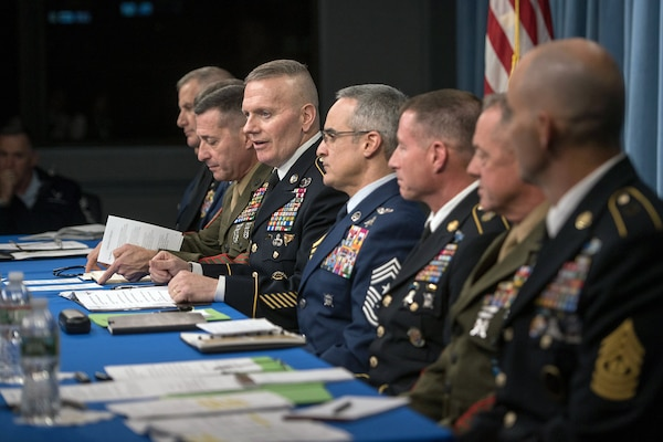 Combatant Command Enlisted Leaders Discuss Operations, NCO Empowerment