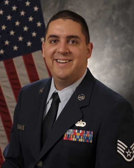 The U.S. Air Force Judge Advocate General named Staff. Sgt. Martin Dominguez, the Outstanding NCO paralegal of the year award for 2016. (U.S. Air Force photo by Manabu Matsuura)