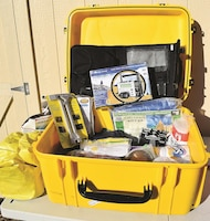 The Army-issued severe weather kit is one of several examples the Ready Army program has to assist people with ideas of what they should include in their emergency kit.