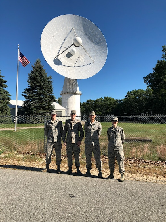 Space Tactics interns at Millstone Hill Radar