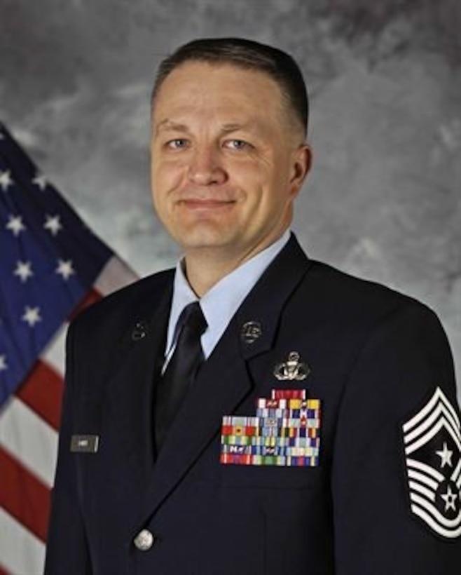 Command Chief Master Sgt. James W. Loper