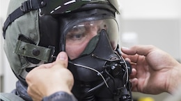 VMFA-251 has intensified training on familiarizing aircrew members with the JPACE, a pilot's Chemical Biological Radiological Nuclear Defense equipment, while still maintaining focus on the squadron's mission.