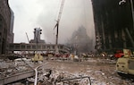 View of Ground Zero, New York City, N.Y., Sept. 14, 2001