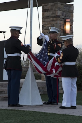 75th Anniversary Evening Colors Ceremony