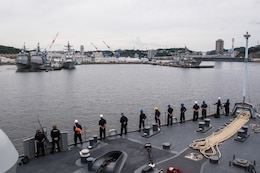 USS Ashland Arrives in Yokosuka for Training-Focused Stop in Indo-Asia-Pacific Deployment