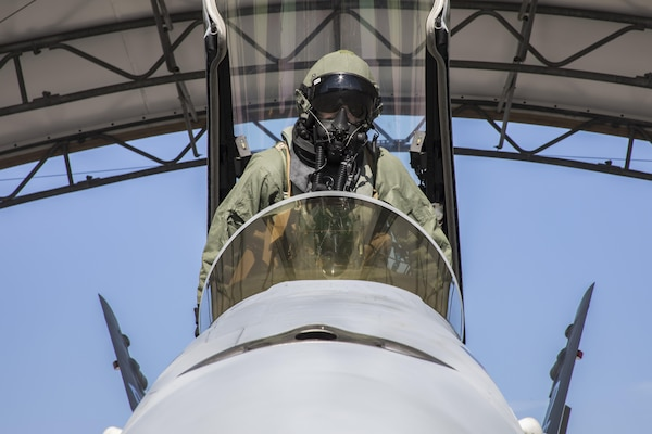 VMFA-251 Pilots Maintain Chemical Biological Radiological Nuclear