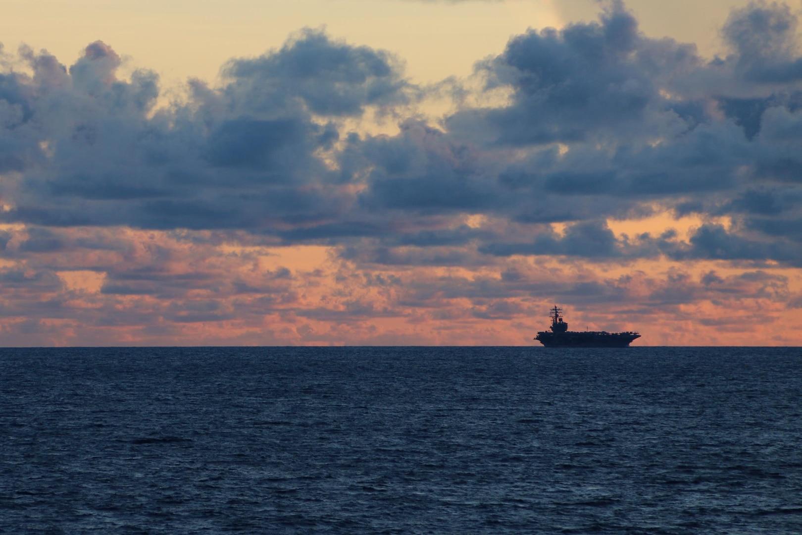 USS Ronald Reagan Transits Luzon Strait