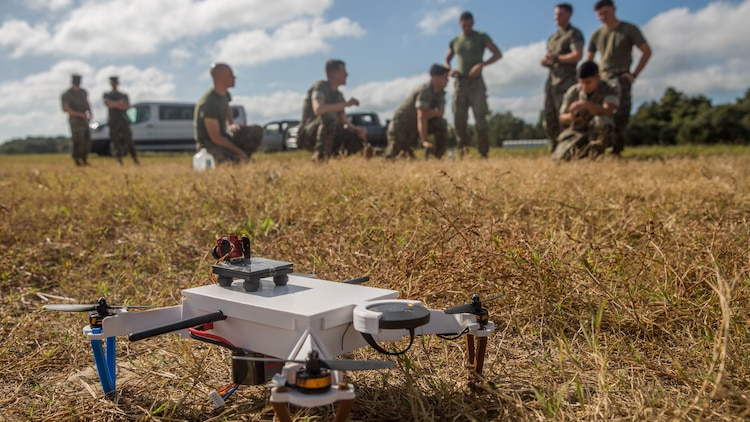 Marines and technicians from the U.S. Army tested the craft to learn its capabilities and practical application in field environments.