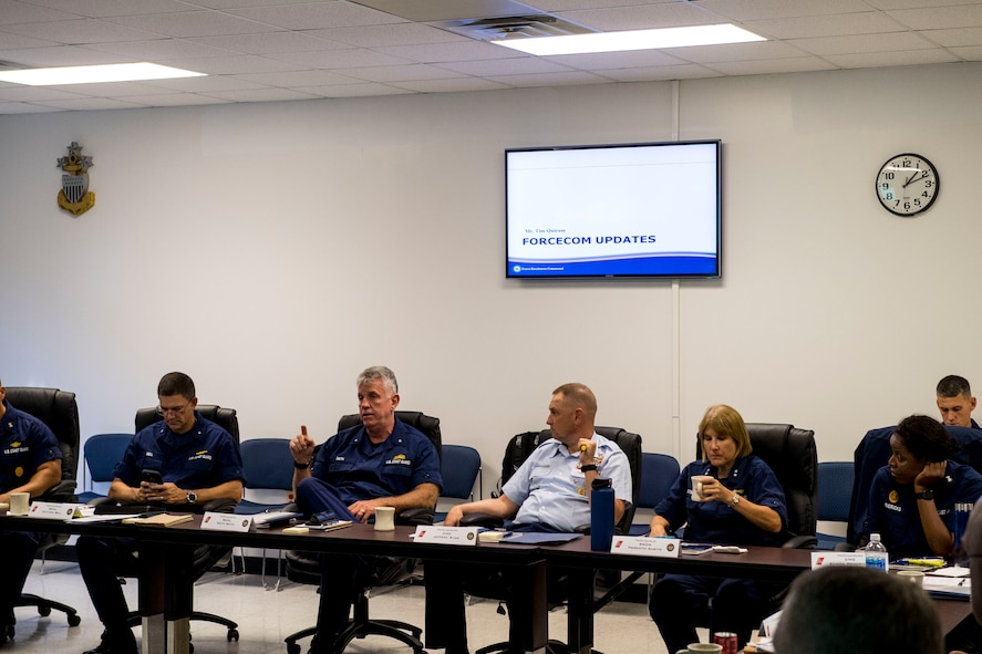 Admiral Smith at BOA Meeting at TCCM 28SEPT17