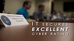 "Defense Contract Management Agency's Information Technology department earns ""excellent"" rating during the Command Cyber Readiness Inspection, Sept. 29, 2017. (DCMA photo by Elizabeth Szoke)"