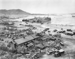 Largest amphibious landing since end of World War II, September 15, 1950, at Inchon Harbor, Republic of Korea