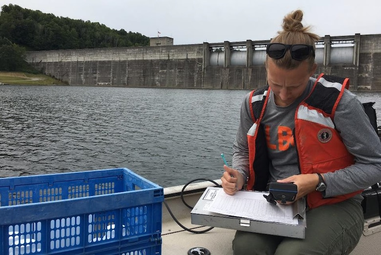 Steve Foster, Kamryn Tufts, Andy Johnson, Emma Kist, Christy Stefanides, and Thaddaeus Tuggle, Huntington District Water Quality, collected water chemistry and chlorophyll in the lake, tail waters, and inflows of Bluestone, Burnsville, Summersville, and Sutton Lakes.