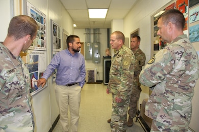 Engineer laboratory hosts National Guard's Arctic Interest Council