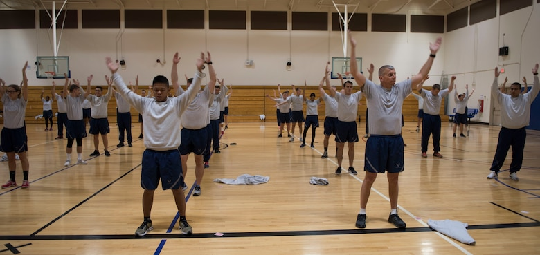 Mark Tschampl, 366th Aerospace Medical Squadron Health Promotion Coordinator, created an Advanced Physical Training Leader course, at Mountain Home Air Force Base, Idaho.