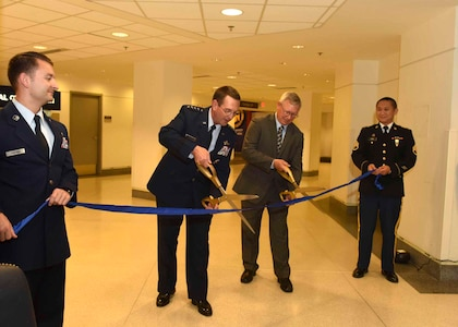 Guard exhibit opens at Pentagon
