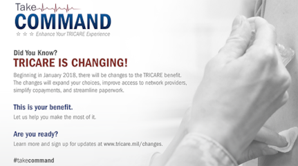 Beginning in January 2018, there will be changes to the TRICARE benefit. (Courtesy photo)