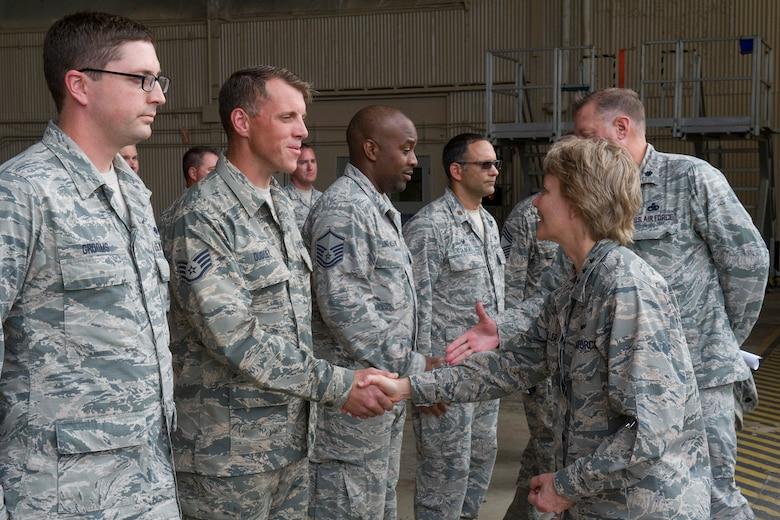 AFRC leadership thanks Citizen Airmen for hurricane rescue efforts
