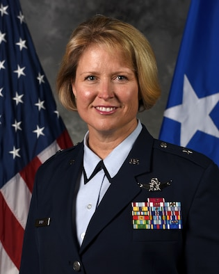 General Burt entered the Air Force in 1991 as a distinguished graduate of the Air Force ROTC program at Embry-Riddle Aeronautical University.  Her career has included numerous satellite operations and staff positions in Air Force Space Command and U.S. European Command.  Brig. Gen. Burt has commanded the 2nd Space Operations Squadron, the 460th Operations Group, and was the Director, Commander's Action Group, Air Force Space Command.  She is a graduate and former instructor of the U.S. Air Force Weapons School and a graduate of the School of Advanced Air and Space Studies. Prior to her current assignment, General Burt was the Commander, 50th Space Wing, Air Force Space Command, Schriever AFB, Colorado.